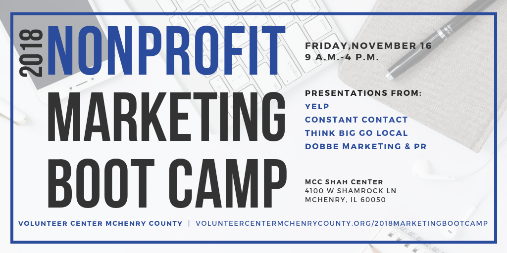 VCMC Nonprofit Marketing Boot Camp